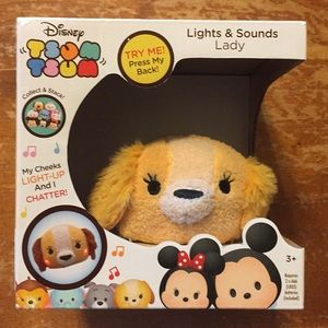 Disney Tsum Tsum Lights & Sounds Lady